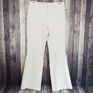 St John cream colored dress pant trousers
